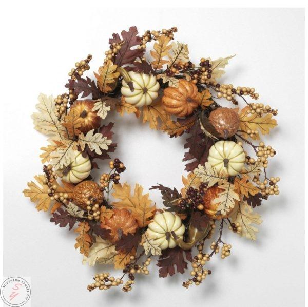 My favorite fall wreaths