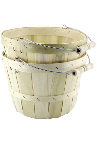 amazon wood baskets