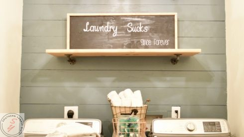 Room Renovation: Laundry Room week 6