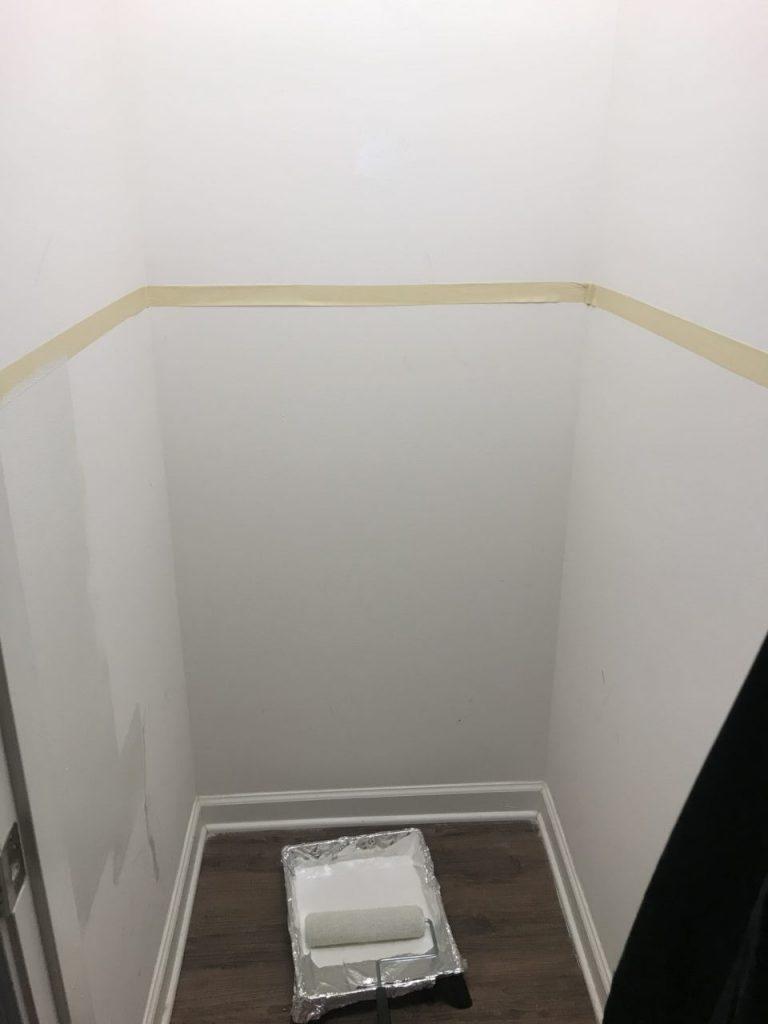 Coat Closet tape off