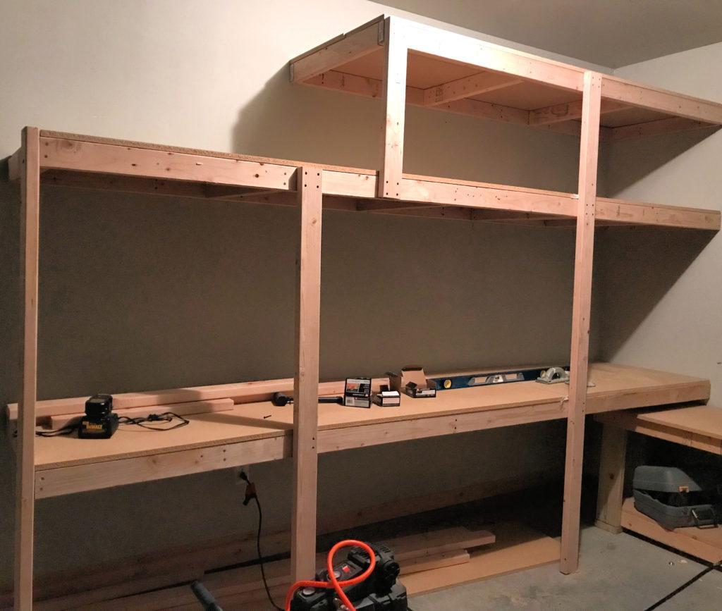 ORC Week 5: Scrap Wood Storage Solutions & Organization ORC, One room challenege, storage, garage, shelving, garage organization, garage renovation