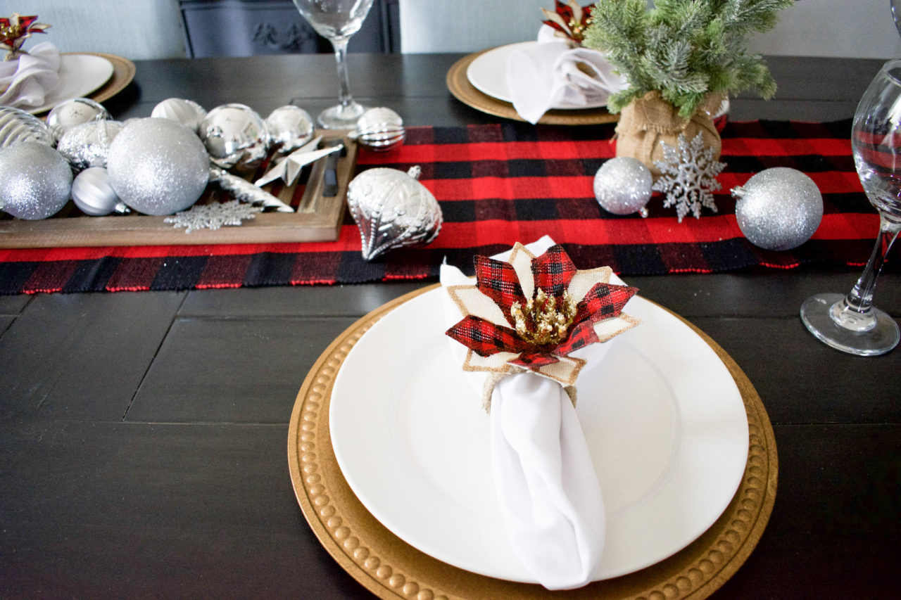 Dollar Tree Christmas Napkin Rings