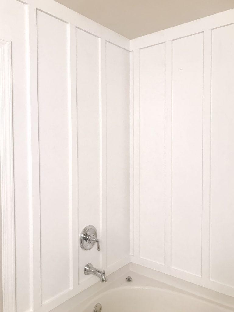 board and batten, board & batten, board and batten wall, DIY board and batten, wood mdf, interior board and batten, batten walls, mdf, mdf board, mdf for baseboards