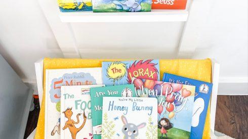 Kids book storage ideas