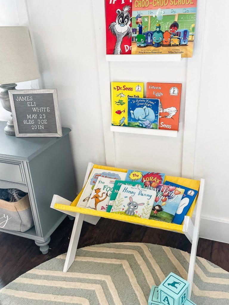 Tempat penyimpanan buku anak